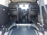 Citroën Berlingo Rolstoelauto van Freedom Auto Aanpassingen binnenkant