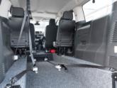 Citroën Spacetourer rolstoelbus van Freedom Auto Aanpassingen binnenkant