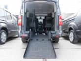 Citroën Spacetourer rolstoelbus van Freedom Auto Aanpassingen bodemverlaging oprijplaat