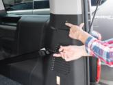 Citroën Spacetourer rolstoelbus van Freedom Auto Aanpassingen rolstoelvastzetsysteem