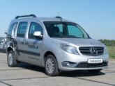 Mercedes Citan Rolstoelauto van Freedom Auto Aanpassingen voorkant