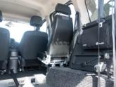 Mercedes Citan Rolstoelauto van Freedom Auto Aanpassingen binnenkant