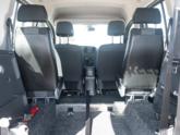 Mercedes Citan Rolstoelauto van Freedom Auto Aanpassingen interieur