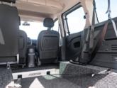 Renault Kangoo Rolstoelauto van Freedom Auto Aanpassingen binnenkant