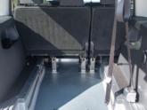 Volkswagen Caddy Rolstoelauto van Freedom Auto Aanpassingen interieur