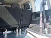 Volkswagen Caddy Rolstoelauto van Freedom Auto Aanpassingen 3e zetelrij