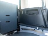 Volkswagen Caddy Rolstoelauto van Freedom Auto Aanpassingen binnenkant oprijplaat
