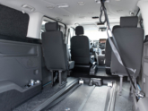 Ford Independence Rolstoelbus van Freedom Auto Aanpassingen binnenkant