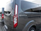 Ford Independence Rolstoelbus van Freedom Auto Aanpassingen logo zijkant