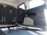 Peugeot Rifter rolstoelauto API model van Freedom Auto Aanpassingen binnenkant